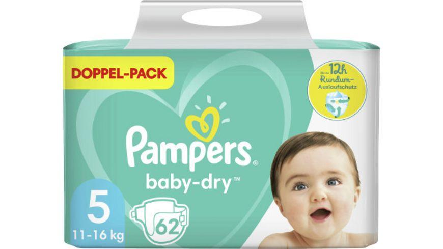 Pampers BABY DRY Windeln Gr.5 Junior 11-16kg DP 62ST