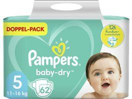 Pampers BABY DRY Windeln Gr 5 Junior 11 16kg DP 62ST