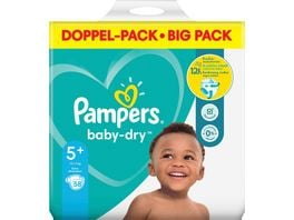 Pampers BABY DRY Windeln Gr 5 Junior Plus 12 17kg Doppelpack 58ST