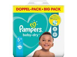 Pampers Windeln Baby Dry Groesse 5 12 17kg Doppelpack