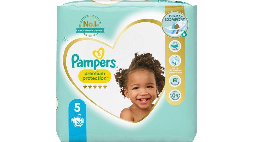 Pampers PREMIUM PROTECTION Windeln Gr.5 Junior 11-16kg Einzelpack 26ST