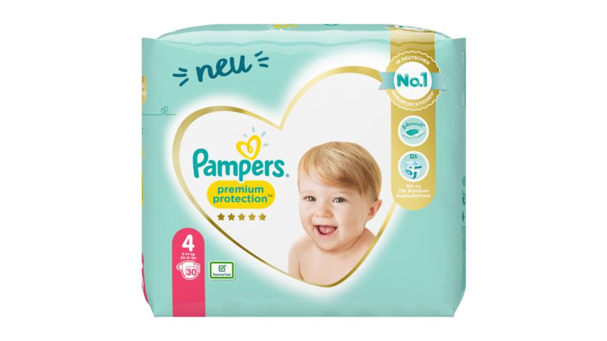 Pampers Premium Protection Groesse 4 9 14kg