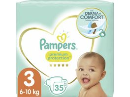 Pampers Premium Protection Groesse 3 Midi 6 10kg