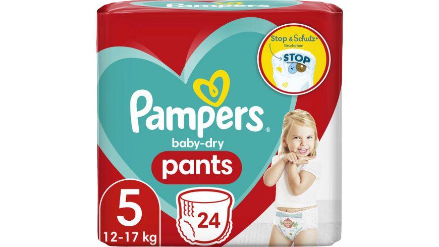 Pampers BABY DRY PANTS Windeln Gr.5 Junior 12-17kg Einzelpack 28ST