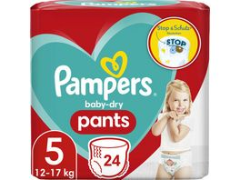 Pampers Windeln Baby Dry Pants Groesse 5 12 17kg