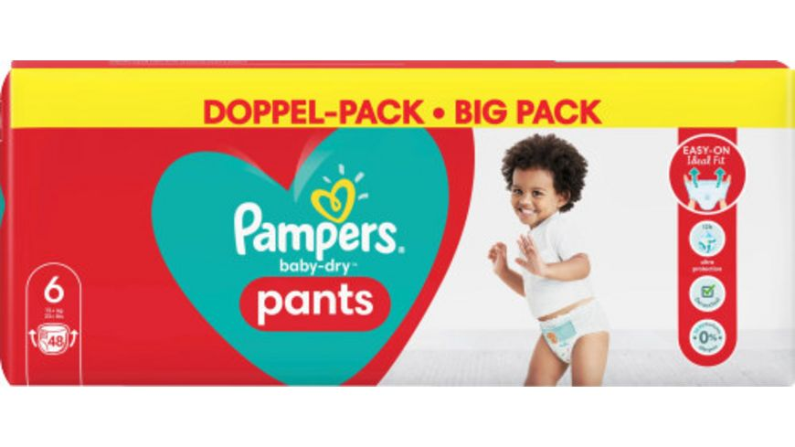 Pampers BABY DRY PANTS Windeln DUO S6