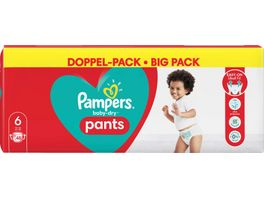 Pampers Baby Dry Pants Groesse 6 Extra Large 15 kg Doppelpack