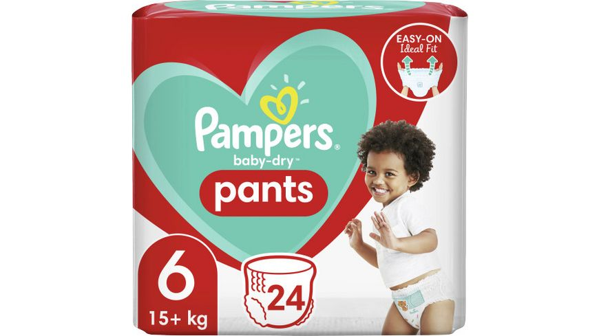 Pampers Baby Dry Pants Größe 6, 15+kg