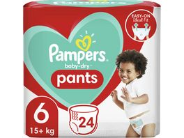 Pampers BABY DRY PANTS Windeln Gr 6 Extra Large 15 kg Einzelpack 24ST