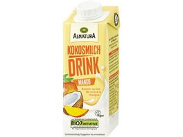 Alnatura Kokosmilch Drink Mango 250ml