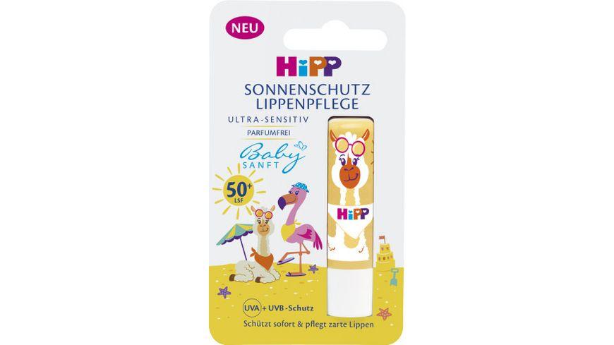 HiPP Babysanft Kinder Sonnen-Lippenpflege LSF 50+, 4,8 g