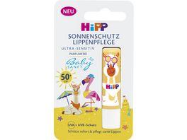 HiPP Babysanft Kinder Sonnen Lippenpflege LSF 50 4 8 g