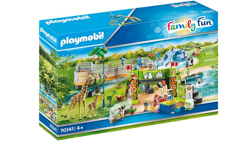 PLAYMOBIL 70341 - Family Fun - Mein großer Erlebnis-Zoo
