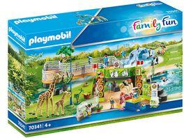 PLAYMOBIL 70341 Family Fun Mein grosser Erlebnis Zoo