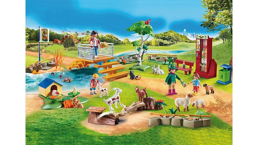 PLAYMOBIL 70342 Family Fun Erlebnis Streichelzoo