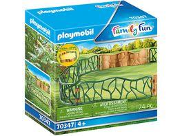 PLAYMOBIL 70347 Family Fun Erlebnis Zoogehege