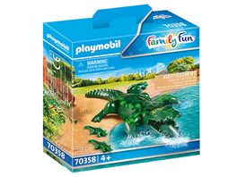 PLAYMOBIL 70358 Family Fun Alligator mit Babys