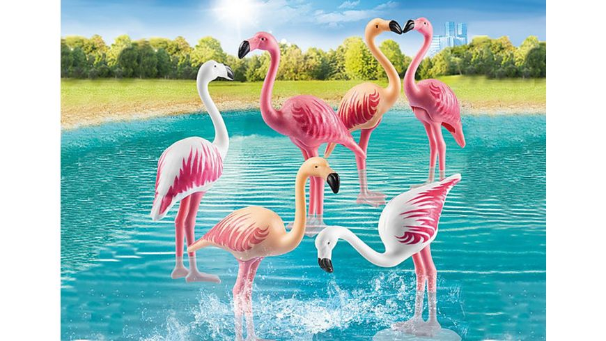 PLAYMOBIL 70351 Family Fun Flamingoschwarm