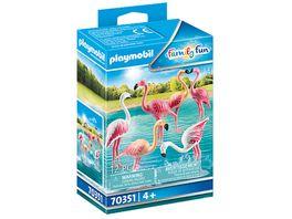 PLAYMOBIL 70351 Family Fun Flamingoschwarm