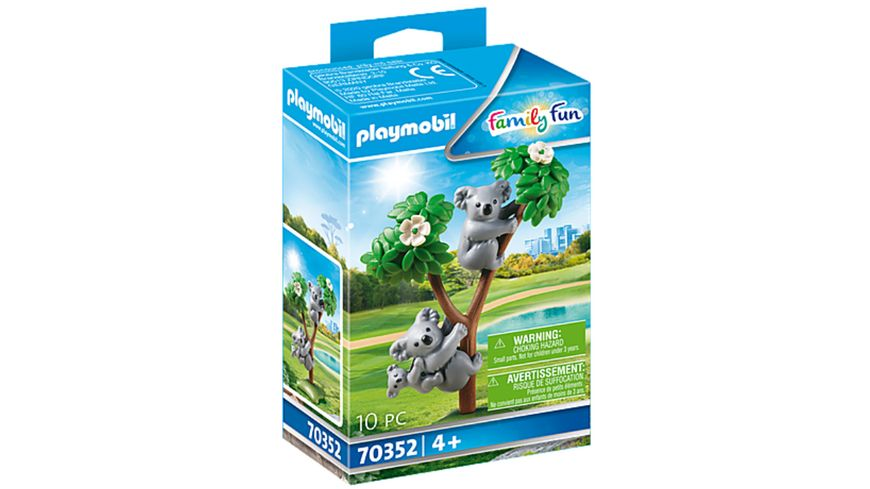 PLAYMOBIL 70352 - Family Fun - 2 Koalas mit Baby