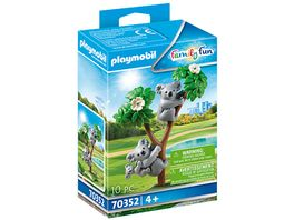 PLAYMOBIL 70352 Family Fun 2 Koalas mit Baby