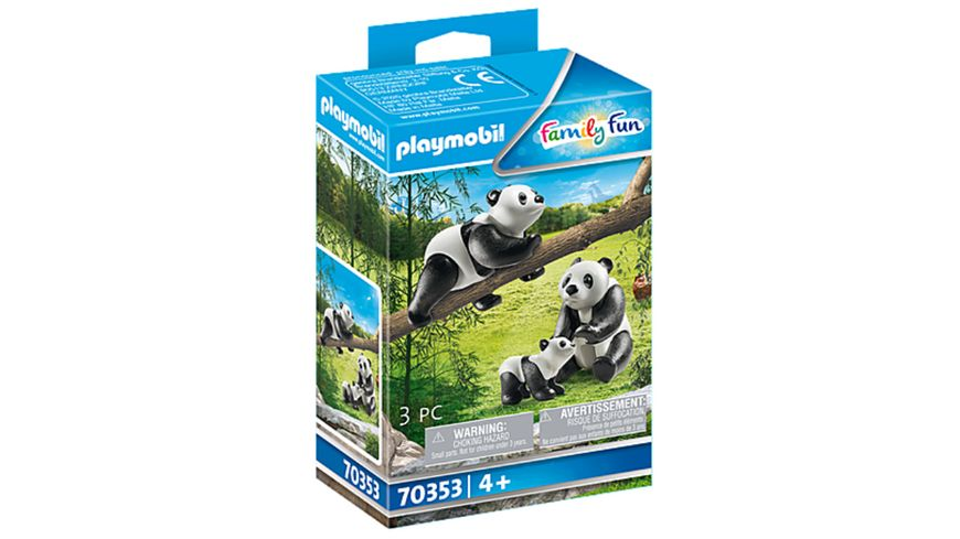 PLAYMOBIL 70353 Family Fun 2 Pandas mit Baby