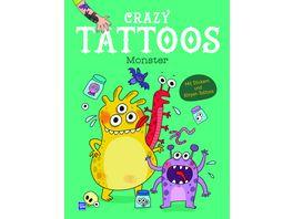 Crazy Tattoos Monster