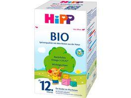 HiPP Milchnahrung Bio 600g HiPP Kindermilch Bio ab dem 12 Monat