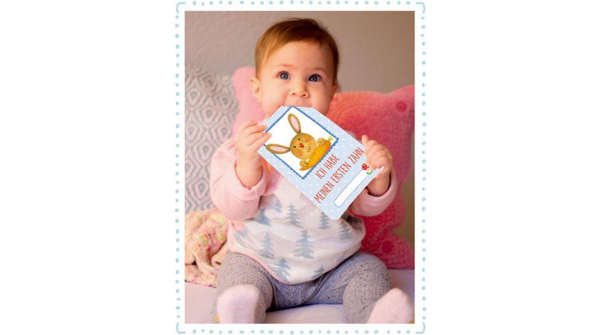 Die Spiegelburg Fotokarten Box Babys erstes Jahr Meilensteine BabyGlueck