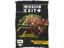 Mission Exit Das Labyrinth zwischen den Welten Escape Game und Geschichte ab 9 Jahren fuer 1 oder mehrere Spieler