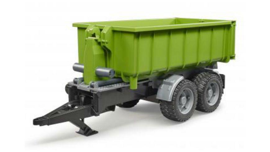 BRUDER - Hakenlift-Anhänger für Traktoren