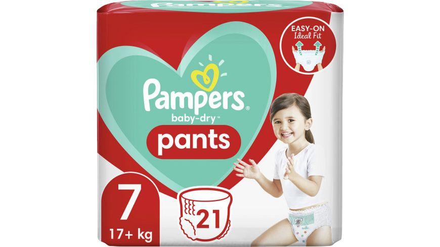 Pampers Baby Dry Pants Groesse 7 17 kg