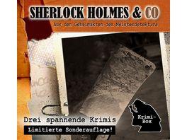 Sherlock Holmes Co Die Krimi Box 12 3CD