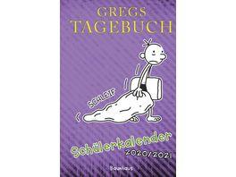 Gregs Tagebuch Schuelerkalender 2020 2021 lila