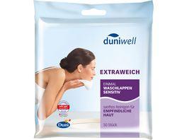Duniwell Einmal Waschlappen Sensitiv