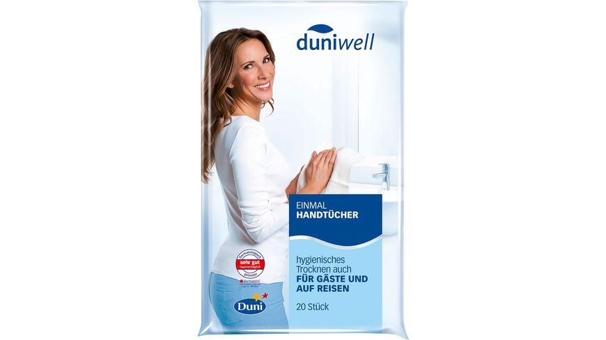 Duniwell Einmal Handtücher