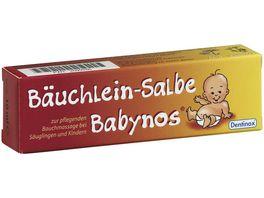 Dentinox Baeuchlein Salbe Babynos