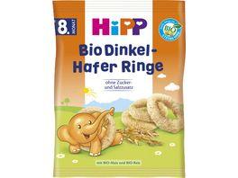 HiPP Bio Getreideprodukt Dinkel Hafer Ringe