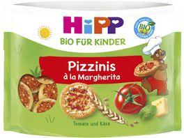 HiPP Bio fuer Kinder Knabberprodukte Pizzinis a la Margherita 50g Kinder 3