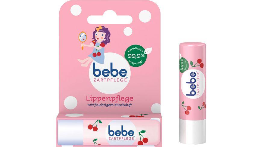 bebe Zartgepflegt Lippenpflege mit fruchtigem Kirschduft