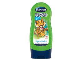 Buebchen 2in1 Shampoo Duschgel Tigerwaesche