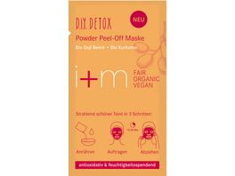 i m D I Y Detox Powder Peel Off Maske