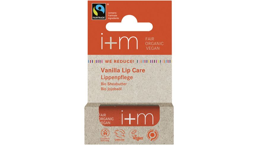 i+m WE REDUCE! Vanilla Lip Care Lippenpflege