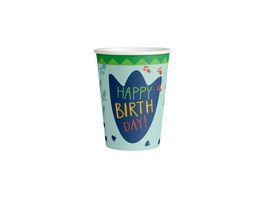 Amscan HAPPY DINOSAUR Becher 250 ml 8 Stueck