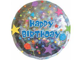 Amscan Folienballon KONFETTI Happy Birthday S55