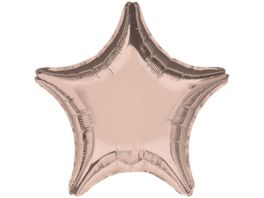 Amscan Folienballon STERN rose gold metallic S15 45cm