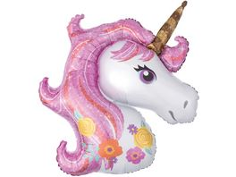Amscan Folienballon MAGICAL Unicorn Super Shape P35