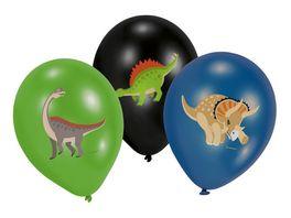 Amscan HAPPY DINOSAUR Latexballons 28cm 6 Stueck