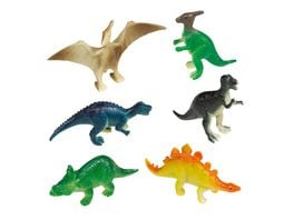 Amscan HAPPY DINOSAUR Mini Figuren 8St