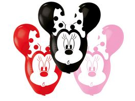 Amscan 4 Latex Balloons Minnie Giant Ears 55 8 cm 22